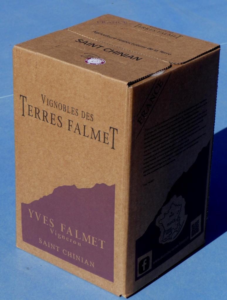 Bib 5 and 10 Liters - Domaine des Terres Falmet