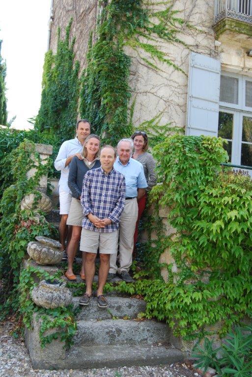 La famille en charge des Domaines Preignes le Neuf
