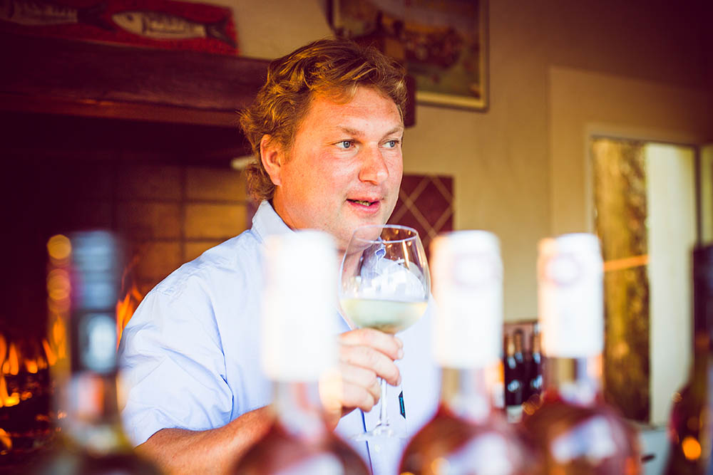 Mathieu Merlet - owner of Domaine Merlet